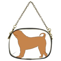 Chinese Shar Pei Silo Color Chain Purses (Two Sides)