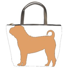 Chinese Shar Pei Silo Color Bucket Bags