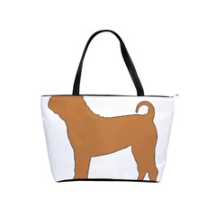 Chinese Shar Pei Silo Color Shoulder Handbags