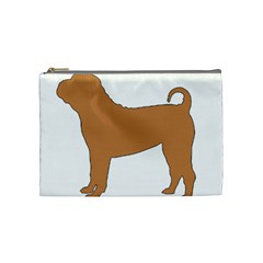 Chinese Shar Pei Silo Color Cosmetic Bag (Medium)