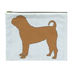 Chinese Shar Pei Silo Color Cosmetic Bag (XL)