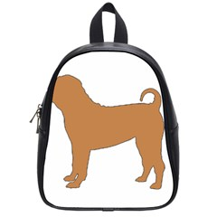 Chinese Shar Pei Silo Color School Bags (Small)