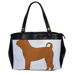 Chinese Shar Pei Silo Color Office Handbags
