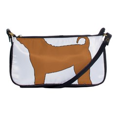 Chinese Shar Pei Silo Color Shoulder Clutch Bags