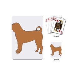 Chinese Shar Pei Silo Color Playing Cards (Mini)