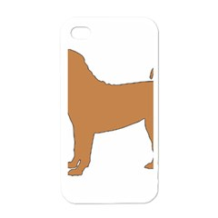 Chinese Shar Pei Silo Color Apple iPhone 4 Case (White)
