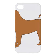 Chinese Shar Pei Silo Color Apple iPhone 4/4S Hardshell Case