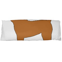 Chinese Shar Pei Silo Color Body Pillow Case (Dakimakura)