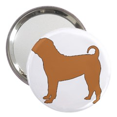 Chinese Shar Pei Silo Color 3  Handbag Mirrors