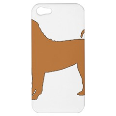 Chinese Shar Pei Silo Color Apple iPhone 5 Hardshell Case