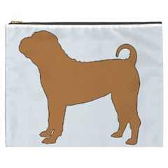 Chinese Shar Pei Silo Color Cosmetic Bag (XXXL)