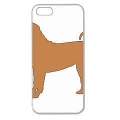 Chinese Shar Pei Silo Color Apple Seamless iPhone 5 Case (Clear)