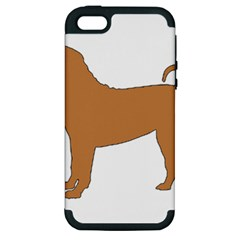 Chinese Shar Pei Silo Color Apple iPhone 5 Hardshell Case (PC+Silicone)