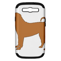 Chinese Shar Pei Silo Color Samsung Galaxy S III Hardshell Case (PC+Silicone)