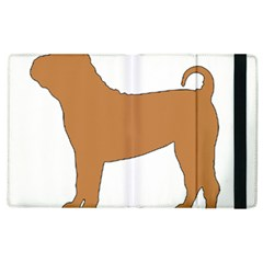 Chinese Shar Pei Silo Color Apple iPad 2 Flip Case