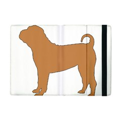 Chinese Shar Pei Silo Color Apple iPad Mini Flip Case