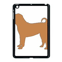 Chinese Shar Pei Silo Color Apple iPad Mini Case (Black)