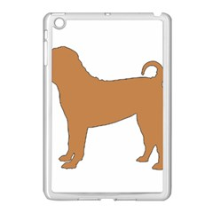 Chinese Shar Pei Silo Color Apple iPad Mini Case (White)