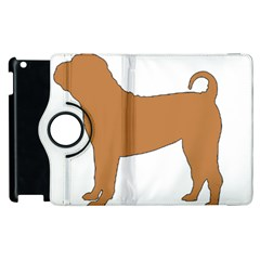 Chinese Shar Pei Silo Color Apple iPad 2 Flip 360 Case