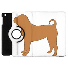 Chinese Shar Pei Silo Color Apple iPad Mini Flip 360 Case