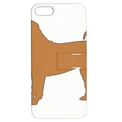 Chinese Shar Pei Silo Color Apple iPhone 5 Hardshell Case with Stand