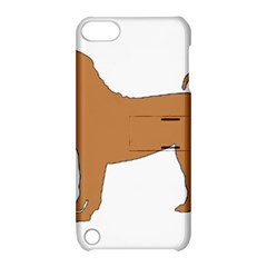 Chinese Shar Pei Silo Color Apple iPod Touch 5 Hardshell Case with Stand