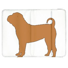 Chinese Shar Pei Silo Color Samsung Galaxy Tab 7  P1000 Flip Case