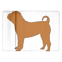 Chinese Shar Pei Silo Color Samsung Galaxy Tab 10.1  P7500 Flip Case