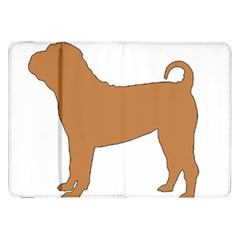 Chinese Shar Pei Silo Color Samsung Galaxy Tab 8.9  P7300 Flip Case