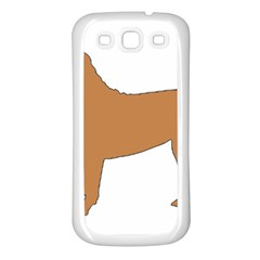 Chinese Shar Pei Silo Color Samsung Galaxy S3 Back Case (White)