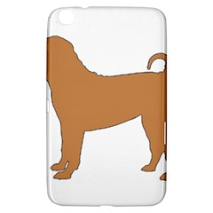 Chinese Shar Pei Silo Color Samsung Galaxy Tab 3 (8 ) T3100 Hardshell Case