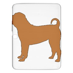 Chinese Shar Pei Silo Color Samsung Galaxy Tab 3 (10.1 ) P5200 Hardshell Case