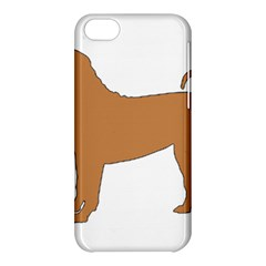 Chinese Shar Pei Silo Color Apple iPhone 5C Hardshell Case