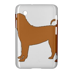 Chinese Shar Pei Silo Color Samsung Galaxy Tab 2 (7 ) P3100 Hardshell Case