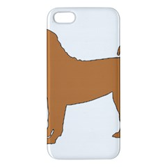 Chinese Shar Pei Silo Color iPhone 5S/ SE Premium Hardshell Case