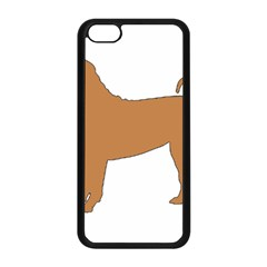 Chinese Shar Pei Silo Color Apple iPhone 5C Seamless Case (Black)