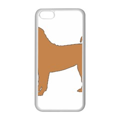 Chinese Shar Pei Silo Color Apple iPhone 5C Seamless Case (White)