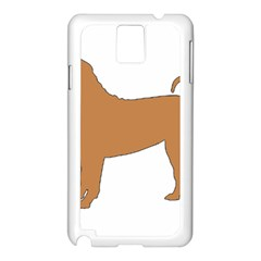 Chinese Shar Pei Silo Color Samsung Galaxy Note 3 N9005 Case (White)