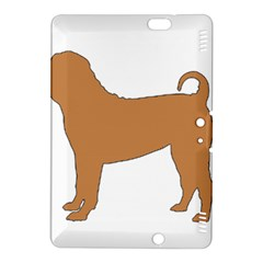 Chinese Shar Pei Silo Color Kindle Fire HDX 8.9  Hardshell Case