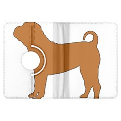 Chinese Shar Pei Silo Color Kindle Fire HDX Flip 360 Case