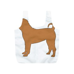 Chinese Shar Pei Silo Color Full Print Recycle Bags (S)