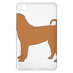 Chinese Shar Pei Silo Color Samsung Galaxy Tab Pro 8.4 Hardshell Case