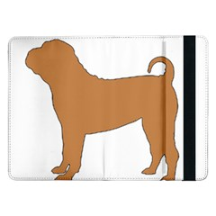 Chinese Shar Pei Silo Color Samsung Galaxy Tab Pro 12.2  Flip Case