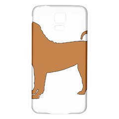 Chinese Shar Pei Silo Color Samsung Galaxy S5 Back Case (White)