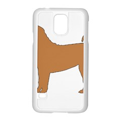 Chinese Shar Pei Silo Color Samsung Galaxy S5 Case (White)