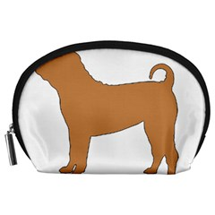 Chinese Shar Pei Silo Color Accessory Pouches (Large)
