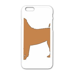 Chinese Shar Pei Silo Color Apple iPhone 6/6S White Enamel Case