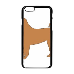 Chinese Shar Pei Silo Color Apple iPhone 6/6S Black Enamel Case