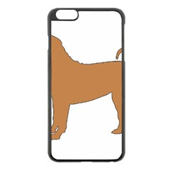 Chinese Shar Pei Silo Color Apple iPhone 6 Plus/6S Plus Black Enamel Case