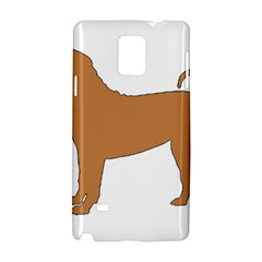 Chinese Shar Pei Silo Color Samsung Galaxy Note 4 Hardshell Case